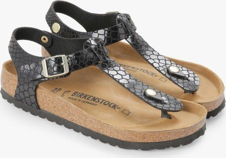 Birkenstock Women's Kairo Snake Black Birko-Flor Sandals
