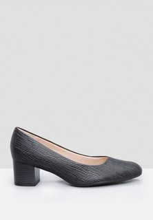 Piccadilly Textured Classic Pumps - Black