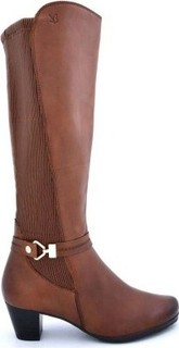 Caprice Stylish Brown Color Knee High Boots for Women CPR25526
