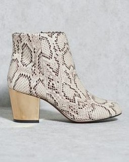 COCO Low Block Heel Ankle Boots