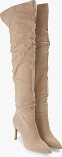Lavish Alice Suede Over-The-Knee Boots