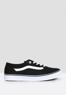 VANS Milton Sneakers - Black White