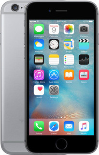 Apple iPhone 6S with Face Time 32 GB, 4G LTE, Space Grey