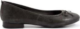 Tamaris Modish Grey Patterned Ballerina Shoes for Women WOR22124