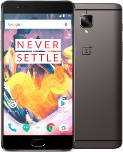 OnePlus 3T 128 GB, 4G LTE, Gun Metal, Dual SIM