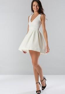 Tfnc LONDON Soraya Skater Dress - White