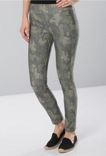 BOWBO Pull On Stretchy Leggings - Camouflage