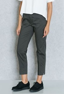 MANGO Cropped Pants