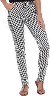 FABALLEY Chess Board Pants - Black