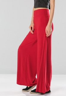 Golden Apple Palazzo Pant - Red