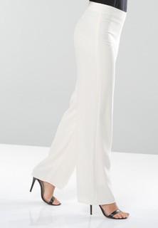 Seden Crepe Pants - Off White