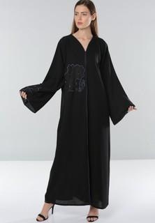 Dubai Abaya Wide Sleeves Abaya - Black