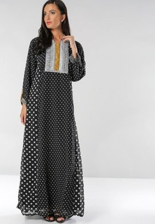 Sara Arabia Casual Wear Jalabiyas - Black