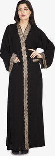 Zahra Abaya, Black
