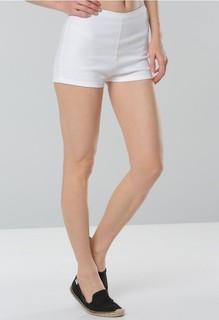 RIA MARIA Sparrow High Waisted Shorts - White