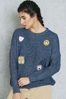 Ginger Badge Sweater