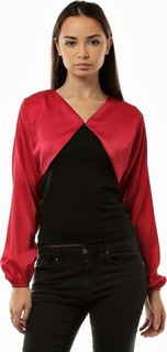 Seden Bolero Solid crystal button - Red