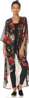 VS FASHION Longline Kimono - Multicolor