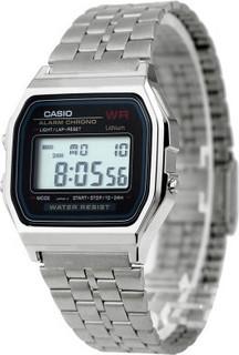 Casio Classic Digital A159WA-N1DF for Men Digital, Silver