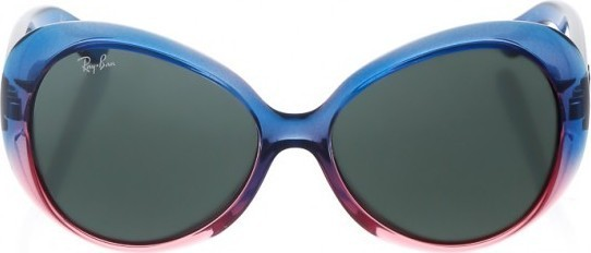Ray Ban Square Sunglasses - Blue