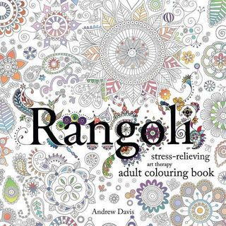 Sweet Cherry - Rangoli: Stress-Relieving Art Therapy Adult Colouring Book