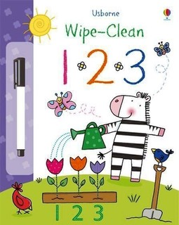 Usborne Books: Wipe-Clean 123