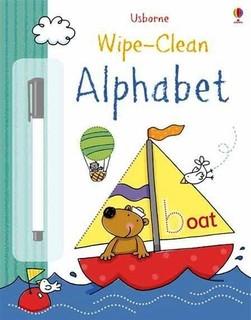 Usborne Books: Wipe-Clean Alphabet