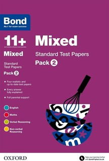 Bond 11+ Stand Test Papers Mixed 9-11 Years, Pack 2