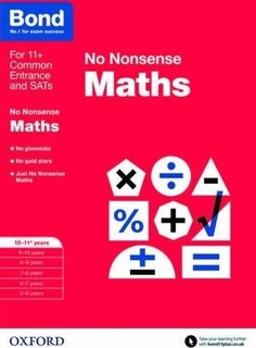Bond No Nonsense Maths 10-11 Years
