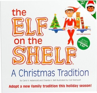 Elf on the Shelf - Brown Eyed Girl Scout Elf