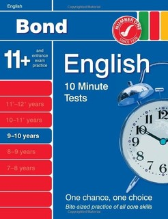 Oxford Books - Bond 10 Minute Tests English (9-10)