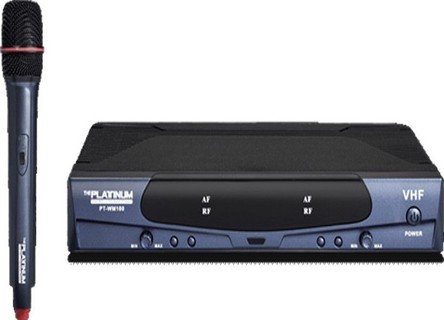 Platinum Karaoke Wireless Microphone Black - PTWM100 249