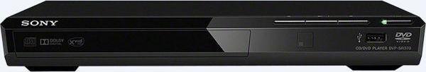 Sony DVD player Ultra Slim DVP-SR370 - Black