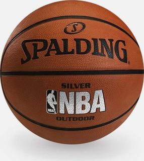 spalding nba silver size 5 outdoor basketball