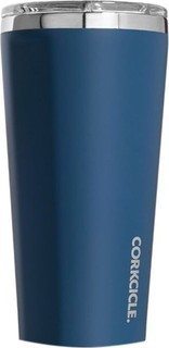 Corkcicle Matte Blue Insulated Tumbler 470ml