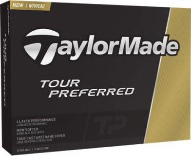 1 DOZEN TAYLORMADE TOUR PREFERRED GOLF BALLS