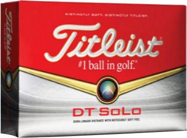BUY 2 DOZEN 2014 TITLEIST DT SOLO WHITE GOLF BALLS + GET 1 DOZEN FREE
