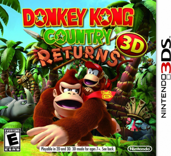 Donkey Kong Country Returns for Nintendo 3DS