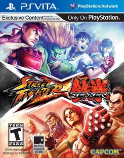 Street Fighter X Tekken for PS Vita
