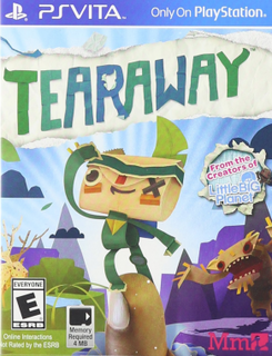 Tearaway for PS Vita