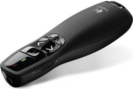 Logitech R400 Wireless Presenter- Black