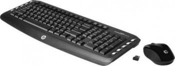 HP Wireless Classic Desktop - Keyboard and mouse set