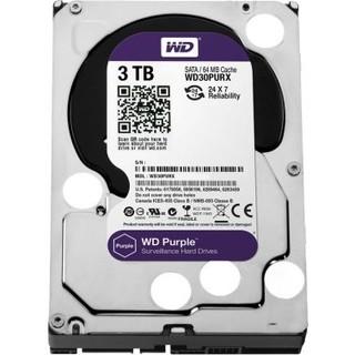 Western Digital WD WD30PURX 3TB Internal Hard Drive, Purple