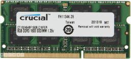 Crucial 8GB 204-Pin DDR3 SO-DIMM DDR3L 1600 (PC3L 12800) Laptop Memory - CT102464BF160B 209