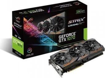 ASUS Rog GeForce GTX 1070 8GB ROG STRIX OC Edition Graphic Card STRIX-GTX1070-O8G-GAMING