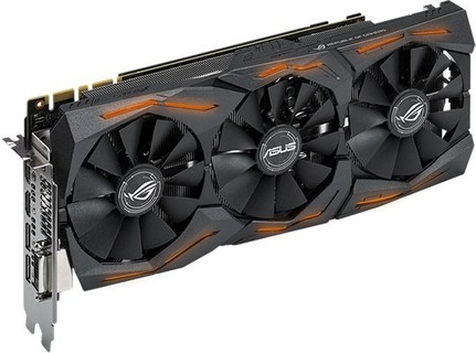 Asus GeForce Gtx 1080 8Gb Rog Strix Graphics Card - STRIX-GTX1080-A8G-GAMING