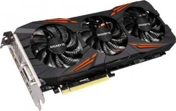 Gigabyte Gaming Video Card GV-N1070G1 GAMING-8GD, Black