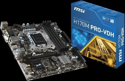 MSI-PRO H170 VDH