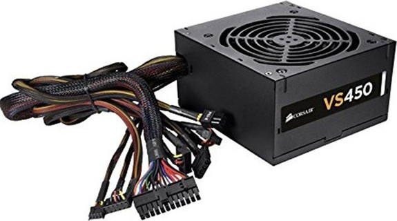 Corsair 450W Active PFC Compatible With Core i7 Power Supply Black - CP-9020096-UK 145