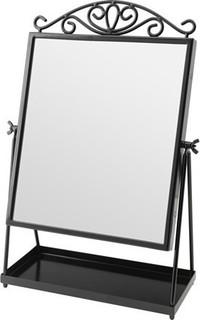 KARMSUND Table mirror, black